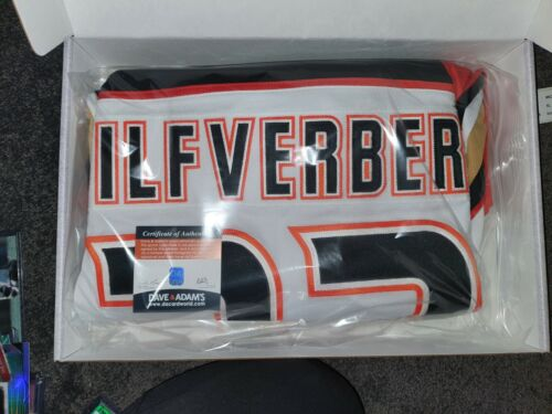 Jakob Silfverberg Signed Jersey Anaheim Ducks Official Jersey