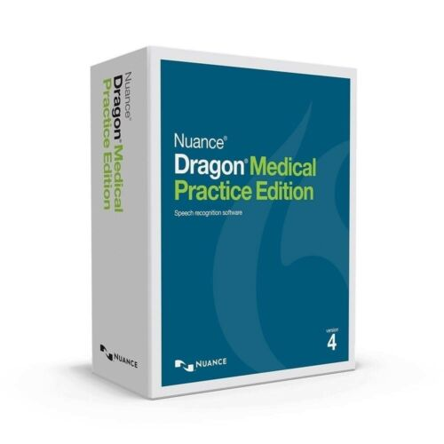 Nuance Dragon Medical Practice Edition 4.3 Speech Recognition with headset UKEng