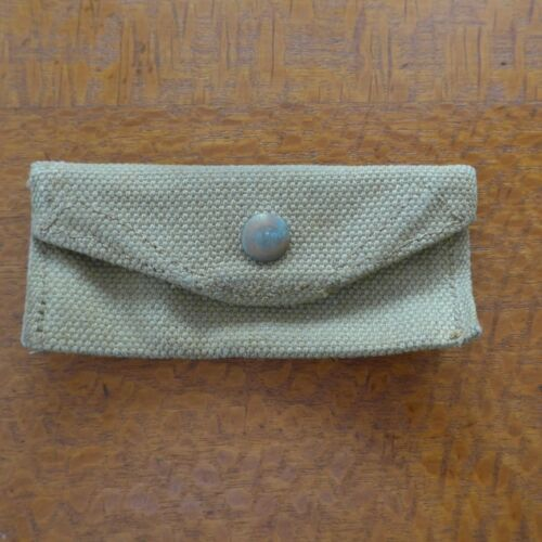 WW2 BRITISH / COMMONWEALTH SMALL PARTS POUCH FOR HELIOGRAPH 1939 - 1945 (WWII) - 13977