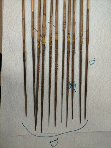 OLD BOWS AND ARROWS FROM PAPUA NEW GUINEA IN GOOD CONDITION