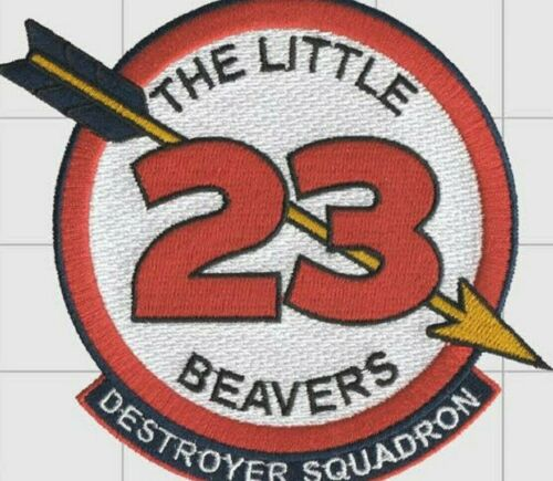 US Navy Destroyer Squadron 23 The Little Beaver PatchMarine Corps - 66531