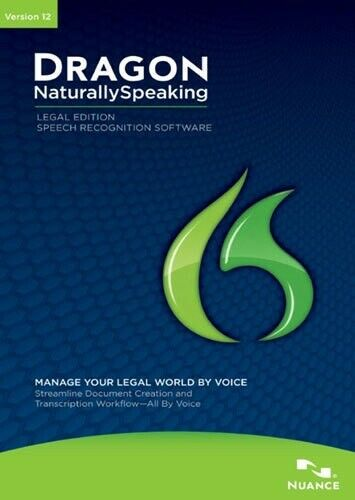 Dragon NaturallySpeaking 12 Professional Speech Recognition by Nuance
