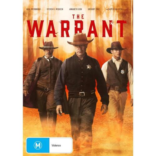 THE WARRANT DVD, NEW & SEALED ** NEW RELEASE ** 210721, FREE POST