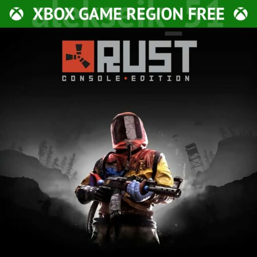 Rust Console Edition Xbox One and Xbox Series X/S Gift Code Global Worldwide Key
