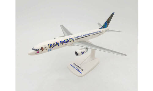"""Boeing 757 -200 Iron Maiden (Astraeus) """"Ed Force One"""" - The Final Frontier Worl"""
