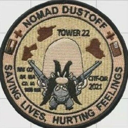 US Army Nomad Dustoff Patch 4''