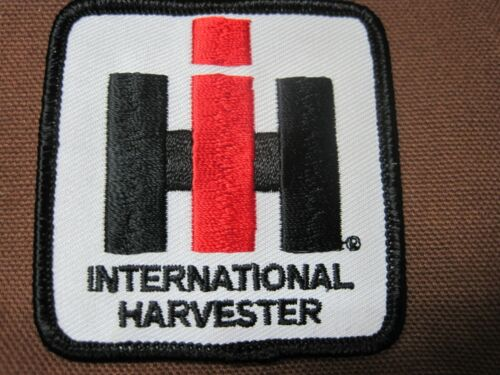 FARM TRACTOR PATCH INTERNATIONAL HARVESTER IRON or SEW ON SMALL SIZE I H I-H IH