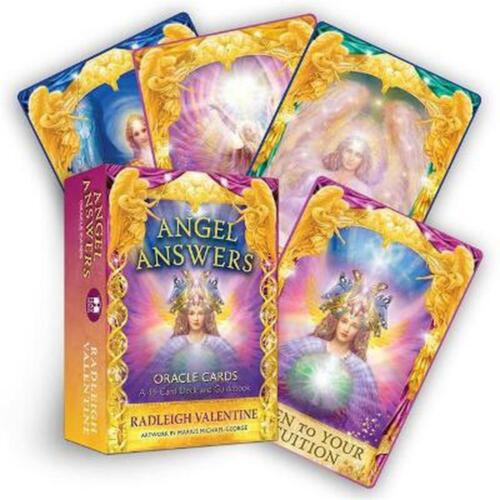 Angel Answers Oracle Cards: A 44-Card Deck and Guidebook Hay House Inc