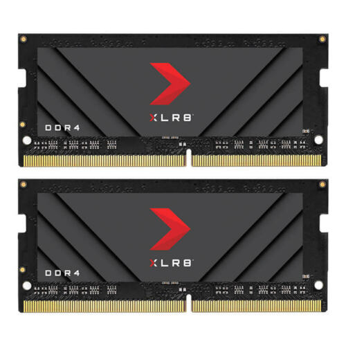 PNY 32GB Single CL19 DDR4 PC4-25600 3200MHz SODIMM Gaming Memory RAM f/Notebook