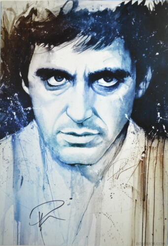 SCARFACE Al Pacino HAND SIGNED by ROB PRIOR w COA