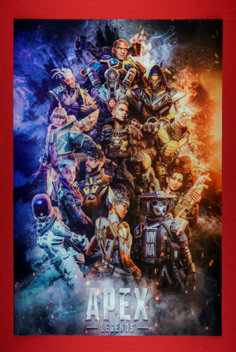 APEX Legends Battle Royale-Hero Shooter Game Poster 24X36 New   APEX