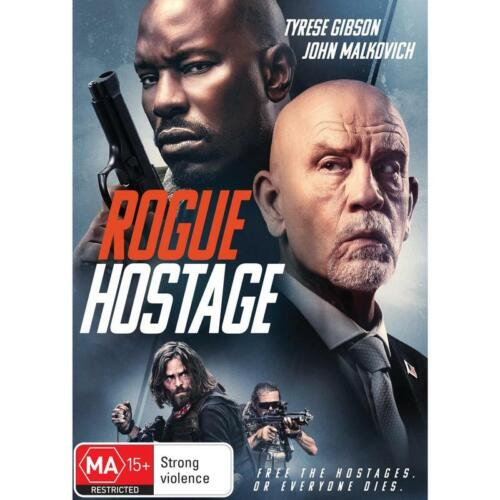 ROGUE HOSTAGE DVD, NEW & SEALED ** NEW RELEASE ** 010921, FREE POST