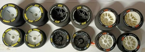 *HOT* 3 full Sets Of 1/8 RC Foam TYRES WHEELS serpent HPI kyosho Losi edam xray