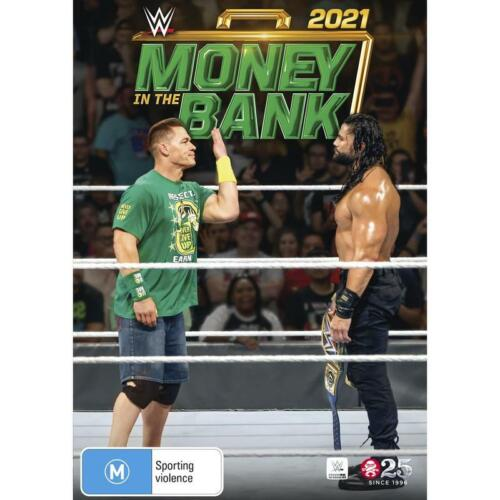 WWE MONEY IN THE BANK 2021 DVD, NEW & SEALED, FREE POST