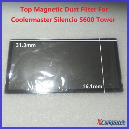 Top Magnetic Dust Filter for Coolermaster Silencio S600 Tower Case Orignial Part