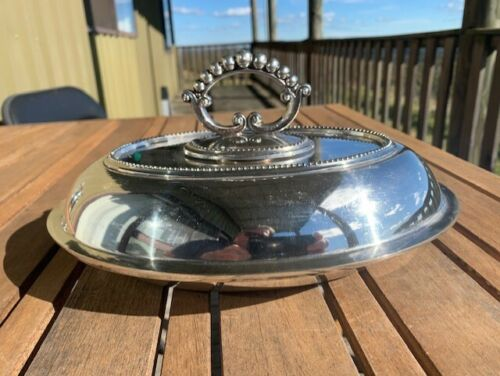 Vintage Hardy's AUS Serving Dish/Tureen Silver Plated c1940's see description