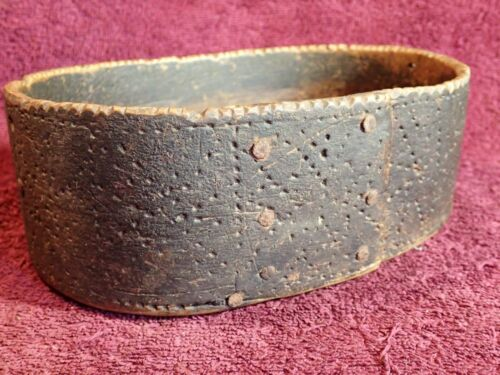 1700 / early 1800-s ANTIQUE DECORATED BENDED WOOD BOX FOLK ART SWEDEN SWEDISH