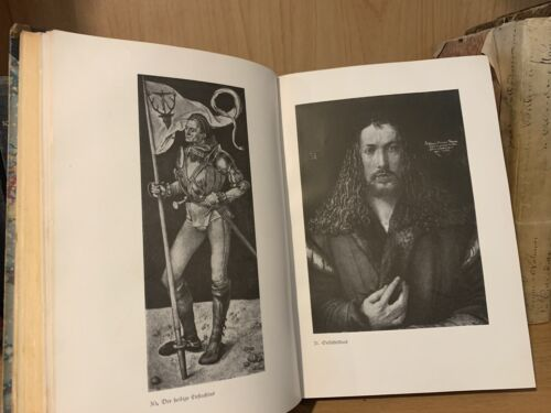 1919 ALBRECHT DURER by Emile Waldmann - with 160 paintings and engravings