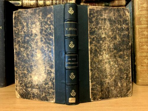 1884 THE INTERIOR VOICES by Victor Hugo - Collection of Poems