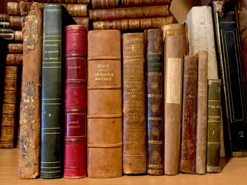 OLD BOOKS COLLECTION XIXth CENTURY - History, Literature, Religion
