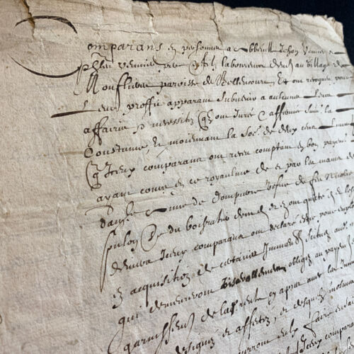 1627 OLD DOCUMENT