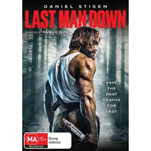LAST MAN DOWN DVD, NEW & SEALED * NEW RELEASE * 201021, FREE POST