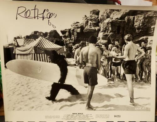 """1 of 1 NEVER seen another Ed  """"BIG DADDY"""" Roth signed movie b/w 8""""x10"""" signed"""