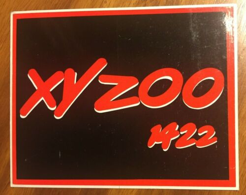 """Vintage 3XY AM Melbourne """"XY ZOO 1422"""" morning show Sticker"""