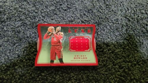 2015-16 PANINI LUXE DIE-CUT RED GAME JERSEYS DWIGHT HOWARD