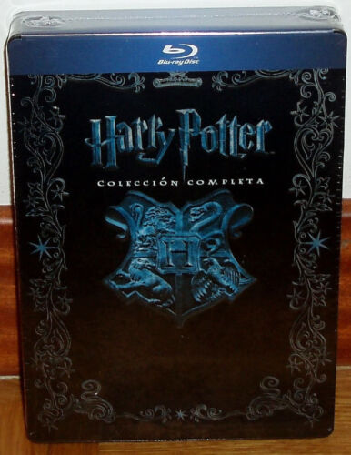 Harry Potter Collection Complete 1-8 Blu-Ray Metal Box Jumbo New Sealed