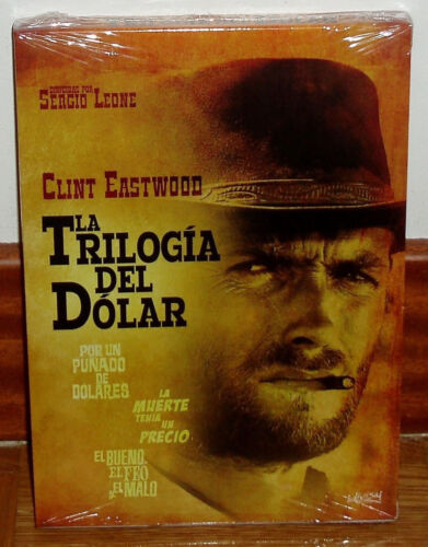 The Trilogy Of Dollar Pack 3 Discs DVD New Sealed Western (Sleeveless Open) R2