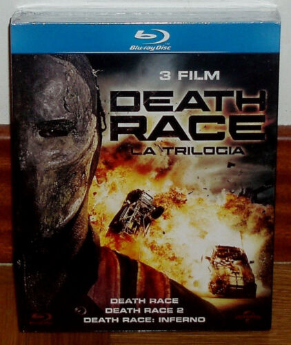 Death Race Trilogy The Race Of Death 3 Disc Blu-Ray New (No Open) R2