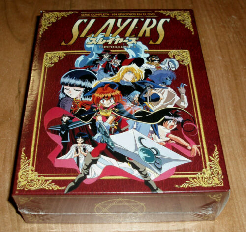 Slayers 1-5 Series Complete 21 DVD New Sealed Animation Anime (No Open) R2