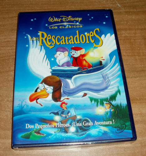 The Rescuers Classic Disney Nº 23 DVD New Sealed (Sleeveless Open) R2