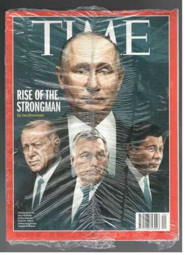 New Sealed Time Magazine May 14 2018 Wladimir Putin Russia Rise Of The Strongman