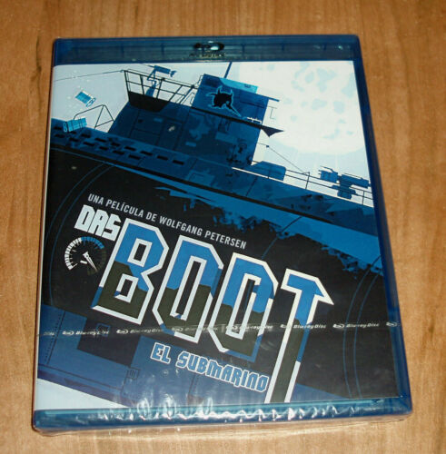 The Submarine Das Boot Blu-Ray New Sealed Action (Sleeveless Open) a-B-C