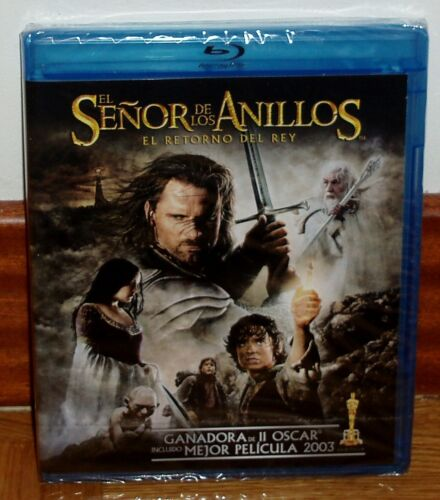 The Señor Of the Rings the Return of The King Blu-Ray + DVD New 2 Discs Sealed