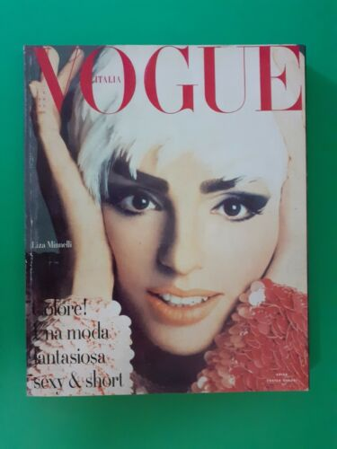 Vogue Italy October 1990 October 32 Liza Minnelli Claudia Schiffer Campbell N.