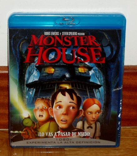 Monster House Blu-Ray New Sealed Animation (Sleeveless Open) R2