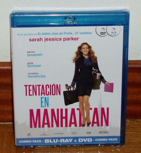 Temptation IN Manhattan - Pack Combo Blu-Ray+DVD - New - Sealed -comedy