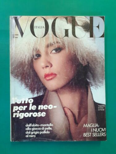 Vogue Italy Settembre 1983 402 September Julie Wolfe Rosemary Mcgrotha Furs