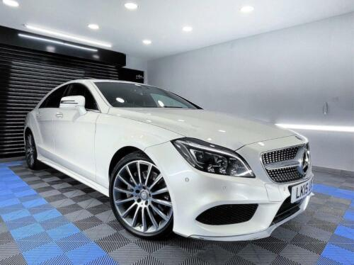 Mercedes-Benz CLS 3.0 CLS350 CDi BlueTEC AMG Line G-Tronic+ (s/s) 4dr Coupe Dies <br/> SUNROOF  LED DYNAMIC LIGHTS