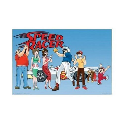 SPEED RACER POSTER Hurray RARE HOT NEW 24x36