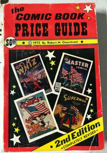 OVERSTREET COMIC BOOK PRICE GUIDE #2 1972 Softcover
