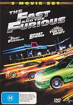 Fast And The Furious, 2 Fast 2 Furious, Toyko Drift Trilogy New DVD Region 4