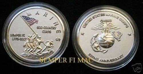 2006 US MARINE 231st CHALLENGE COIN FLAGS OF FATHERS MARINES VETERAN PIN UP GIFTMarine Corps - 66531