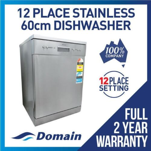 NEW DISHWASHER ELECTRIC AUTOMATIC 60CM STAINLESS STEEL <br/> Bonus 12% Off - Auto applied at checkout - Limited Time