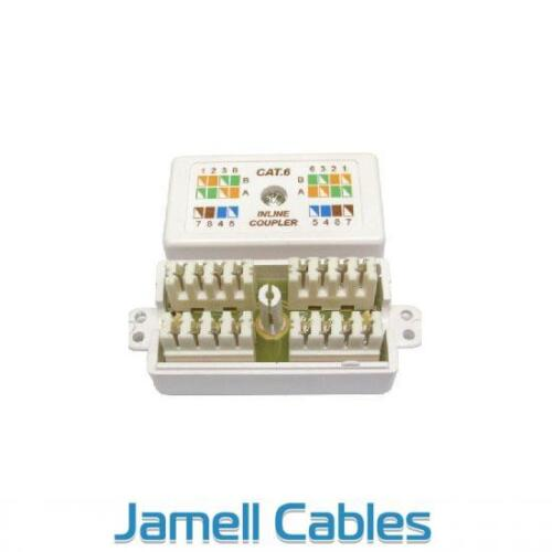 Inline Cable Joiner CAT6 with IDC Punch-Down