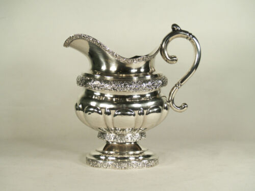 Fine Early American N.York  Coin Silver Creamer