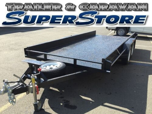 "16x6'6"" tandem heavy duty car carrier trailer for race speedway traralgon <br/> Traralgon trailers biggest trailer and stock supplies"